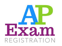 an image of the words AP Exam Registration