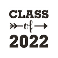class of 2022 with arrow