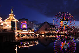 a photo of Disneyland and California Adventure